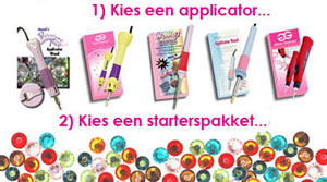 kies je applicator